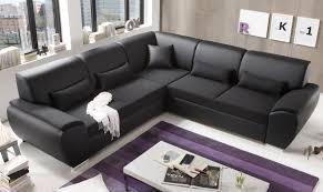 kunstleder sofa schwarz antara ecksofa mit schlaffunktion schlafsofa real