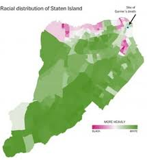 Map Staten Island Eric Garner U0027s Staten Island Nyc U0027s Whitest And Most Conservative