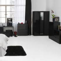 Black Gloss Bedroom Furniture Uk Orient Black High Gloss Bedroom Furniture Bedroom Furniture