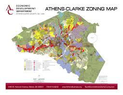Ga Counties Map Athens Clarke County Economic Development Department Maps