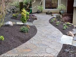 Flagstone Pavers Patio Lewis Landscape Services Paver Patios Portland Oregon