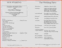 Wedding Programs Samples Wedding Program Samples Marriageprogram Wissinger Chad Chrissy Jpg