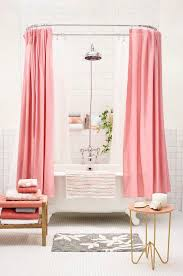 Vintage Style Shower Curtain Pink Shower Curtains Contemporary Bathroom Target