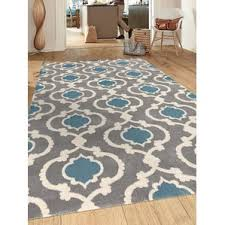 Brown And Blue Area Rug by Andover Mills Area Rugs Wayfair