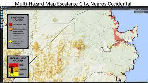 Occ Map List Of Multihazard Maps Of Municipalities In The