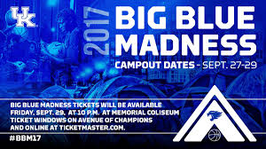 big blue madness tickets to be distributed sept 29 university