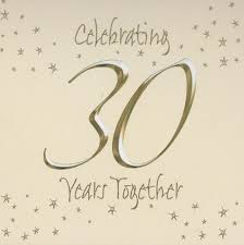 30 wedding anniversary 30th wedding invitations in packs of 6 party wizard