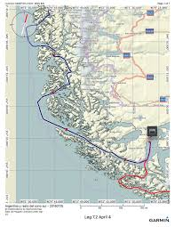 Magellan Route Map by Second Week Aboard