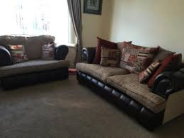 Pre Owned Chesterfield Sofa by Scs Chesterfield 3 Seater Sofa And 2 Seater Love Chair In
