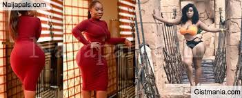 the curves on this ghanaian actress moesha boduong is making guys