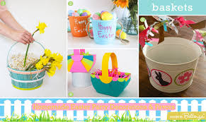 painted easter buckets easy easter party crafts decorations to favors unique