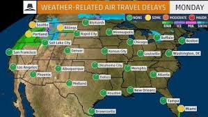 thanksgiving weekend travel forecast weather related delays