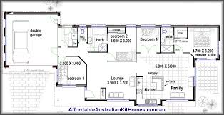 Floor Plan For Four Bedroom House With Inspiration Design - Four bedroom house design