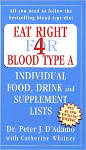 eat right for blood type a peter j d u0027adamo 9780141014807