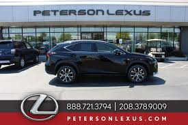 used lexus utility vehicle peterson lexus boise id new and used lexus vehicles in boise