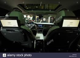 lexus ux canada toronto canada 16th february 2017 a view from inside a cadillac