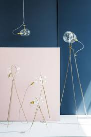 ohad benit designs lighting with bubbles of glass surrounded by a