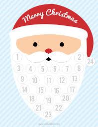 christmas countdown calendar free printable christmas countdown calendar calendar template 2017