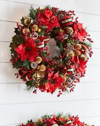 artificial christmas wreaths 55 best christmas door wreath ideas 2017 decorating with