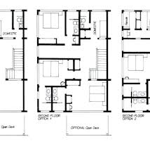 2 story floor plans with garage duplex floor plans with garage novic me