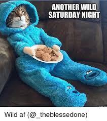 Saturday Meme - another wild saturday night memes con wild af af meme on me me