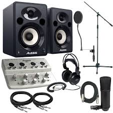 complete home theater packages alesis io4 complete studio recording package pssl