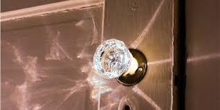 glass crystal door knobs glass doorknob fire home fire warnings