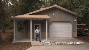 greg u0027s garage with office youtube