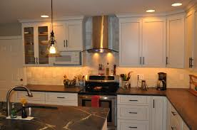 Kitchen Light Under Cabinets by Cabinets U0026 Drawer Country Steel Under Cabinet Lights Big Space