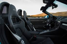 porsche boxster 2017 interior 2018 porsche 718 cayman and boxster gts first drive review motor