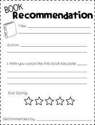 best 25 book recommendation form ideas on pinterest book review