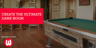 The Ultimate Game Room - create the ultimate game room with pool tables u0026 billiards from