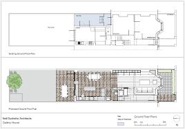 Art Gallery Floor Plan by Kitchen Of The Week An Architect U0027s Labor Of Love Kitchen Art