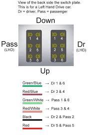 power window switch wiring diagram wiring diagram and schematic
