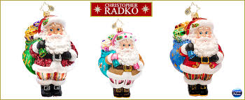 christopher radko designer for a day ornaments
