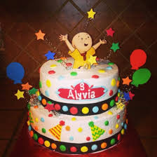 caillou birthday cake caillou cake search girl birthday ides