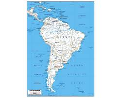 Cape Horn Map Maps Of South America And South American Countries Political