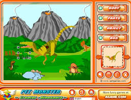Home Design Games Agame Pet Monster Creator Dinosaurs Free Online Games At Agame Com