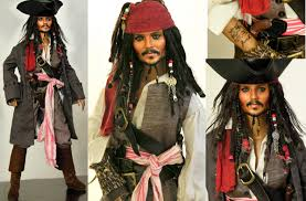 my newest jack sparrow repaint by noeling on deviantart