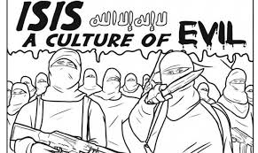 coloring book highlights brutality islamic times