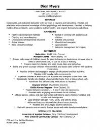Sample Resume Of Caregiver by Resume Caregiver Resume Examples