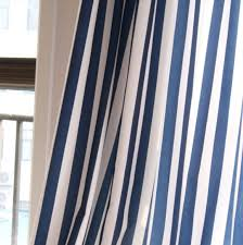 Blue And White Striped Drapes Curtains Ideas Blue And White Stripe Curtains Blue And As Well