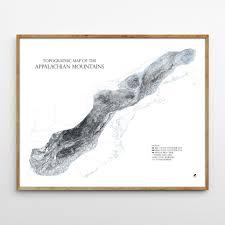 Sierra Nevada Mountains Map Range Series
