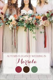 fall wedding fall wedding in marsala hey wedding
