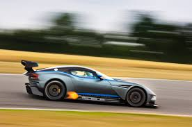 many aston martins spotted around engineering firm to make road legal versions of aston martin