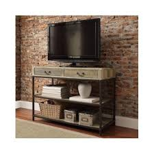 Ebay Console Table by Vintage Industrial Tv Stand Rustic Wood Entertainment Media Center