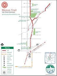 Maps Indianapolis Monon Trail Maplets