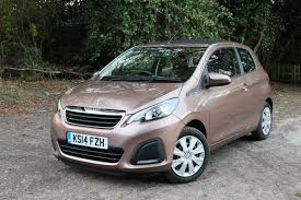 peugeot lease scheme peugeot 108 review putting the active 1 0 top through its paces