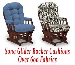 glider rocker cushions for sona chair