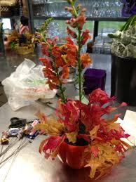 diy halloween flower arrangement with candy petal talk
